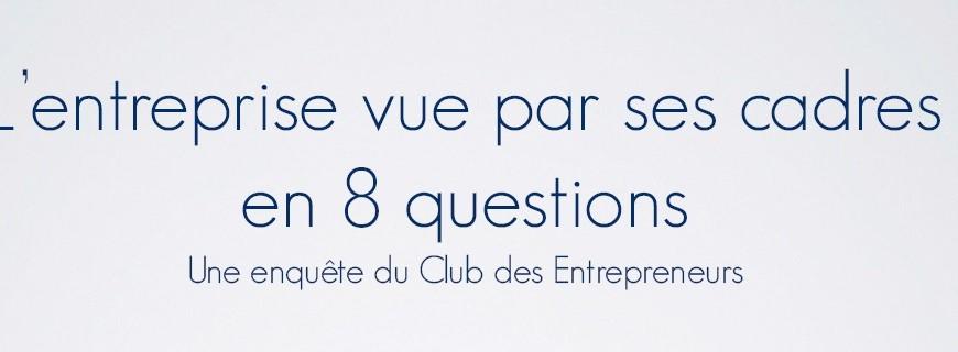 L'entreprise vue par ses cadres en 8 questions