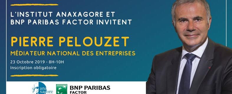Petit-Déjeuner avec Pierre Pelouzet, Médiateur National des Entreprises
